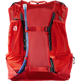 Salomon Skin Pro 15 Backpack Set fiery red